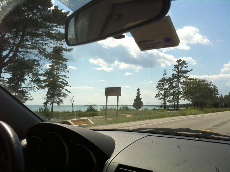 Lake Michigan Shoreline, Hiawatha Forest, MI