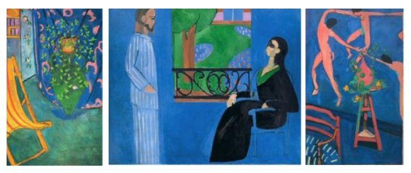 Matisse Tryptich