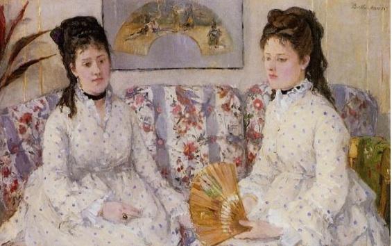 The sisters - Berthe Morisot