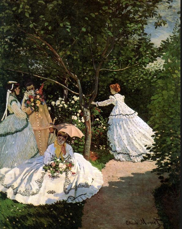 Women in the garden - Monet