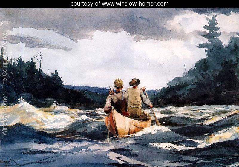 Canoe-in-the-Rapids