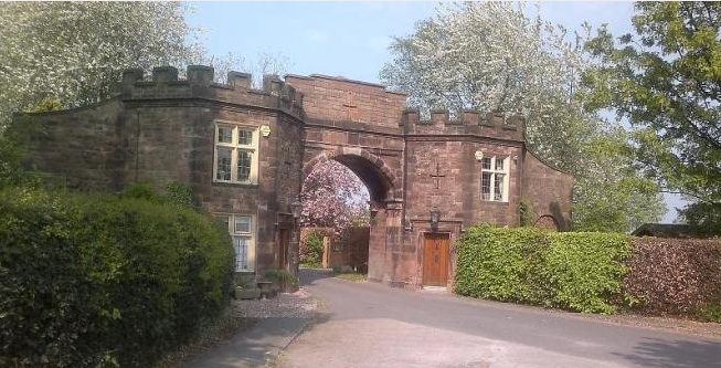 Brereton Hall Gatehouse spring 2014