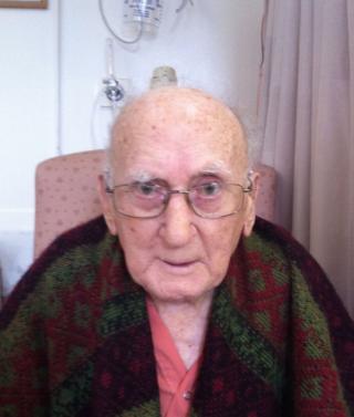 In hospital April 2014